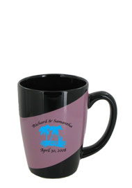 16 oz new haven challenger mug - pink