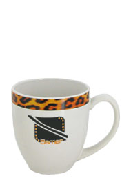15 oz Tailor Made glossy bistro coffee mugs - Kenya Cheetah15 oz Tailor Made glossy bistro coffee mugs - Kenya Cheetah