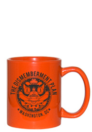 11 oz personalized coffee mug - vibrant orange11 oz personalized coffee mug - vibrant orange