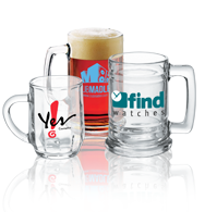 Custom Beer Mugs - Personalized Glass Mugs