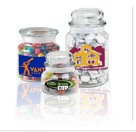 Customized Candy Jars