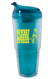 22 oz. Dual aqua Travel Tumbler22 oz. Dual aqua Travel Tumbler