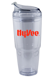 22 oz. Dual clear Travel Tumbler22 oz. Dual clear Travel Tumbler