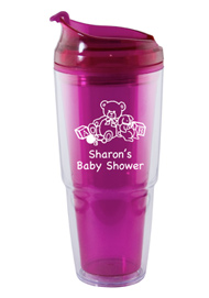 22 oz. Dual magenta Travel Tumbler22 oz. Dual magenta Travel Tumbler