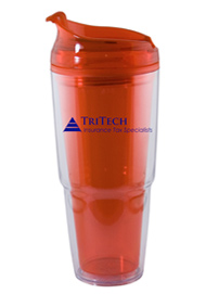 22 oz. Dual orange Travel Tumbler22 oz. Dual orange Travel Tumbler