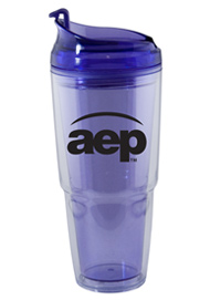22 oz. Dual purple Travel Tumbler22 oz. Dual purple Travel Tumbler