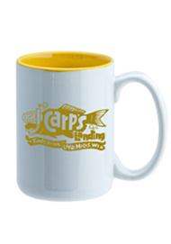 15 oz El Grande Two Tone ceramic mug - yellow interior15 oz El Grande Two Tone ceramic mug - yellow interior
