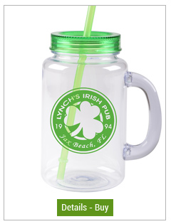 FREE SHIP 20 oz green mason jar with lid and strawFREE SHIP 20 oz green mason jar with lid and straw