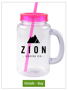 FREE SHIP 20 oz magenta mason jar with lid and strawFREE SHIP 20 oz magenta mason jar with lid and straw