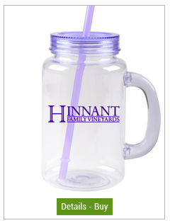 Custom Mason Jars With Purple Lid & Straw 20oz FREE SHIPCustom Mason Jars With Purple Lid & Straw 20oz FREE SHIP