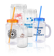 Personalized Promotional Mason Drinking Jars