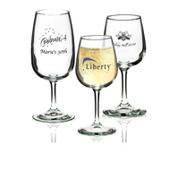 Personalized Wine Tasting Glasses