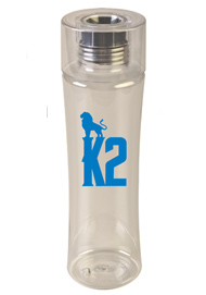 24 oz Reef Black Custom sports bottle  - BPA Free24 oz Reef Black Custom sports bottle  - BPA Free