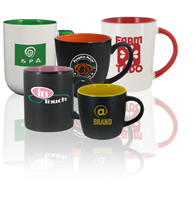 Two-Tone Promotional Coffee Mugs