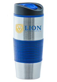 15 oz Ventura Stainless Steel Travel mug - Blue15 oz Ventura Stainless Steel Travel mug - Blue