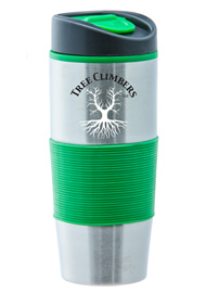 15 oz Ventura Stainless Steel Travel mug - Green15 oz Ventura Stainless Steel Travel mug - Green