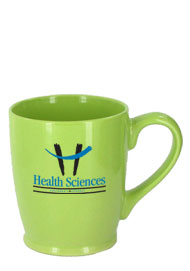 16 oz glossy kinzua coffee mugs - celery green