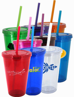 16 oz Journey Travel Cup with Straw - BPA Free