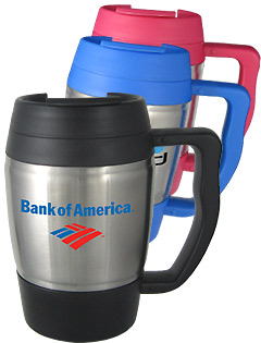 16 oz Highlander Travel Mug with Handle - BPA Free