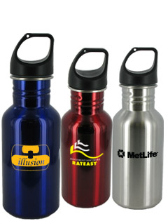 16 oz Junior Excursion Stainless Steel Bottles - BPA Free