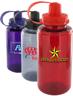 34 oz Mckinley Sports Water Bottles - BPA Free