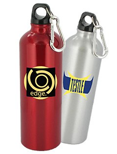 25 oz Trek Aluminum Sports Bottle - BPA Free