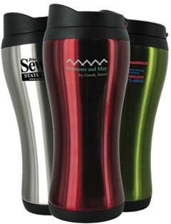 14 oz Urbana Stainless Steel Travel Mug - BPA Free