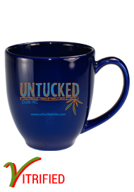 15 oz glossy vitrified cancun bistro coffee mugs - Cobalt Blue15 oz glossy vitrified cancun bistro coffee mugs - Cobalt Blue