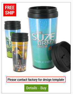 "14 oz ""Create Your Own Design"" Travel Tumbler"