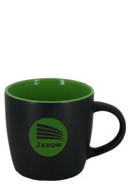 12 oz Effect Two Tone Matte Finish Black Out/Lime Green In Mug12 oz Effect Two Tone Matte Finish Black Out/Lime Green In Mug