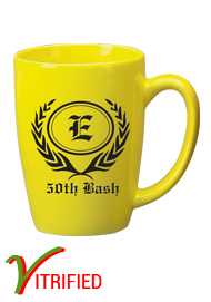 14 oz Houston Endeavor Customized Mug - Lemon Yellow14 oz Houston Endeavor Customized Mug - Lemon Yellow