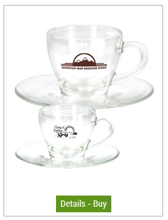 Libbey Glass Espresso and Cappuccino mugs
