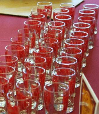 Libbey Custom Mini Beer Taster Glasses