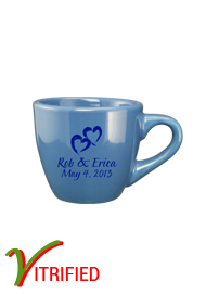 3.5 oz custom restaurant espresso cup - Light Blue3.5 oz custom restaurant espresso cup - Light Blue