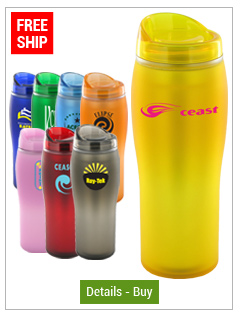14 oz Optima Matte Surface Travel Mug - BPA Free