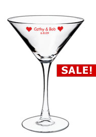7.25 oz Wedding martini glass7.25 oz Wedding martini glass