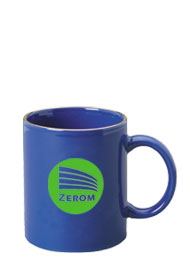 11 oz personalized coffee mug - midnight blue11 oz personalized coffee mug - midnight blue