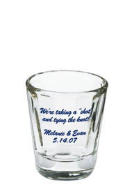 Wedding 1.5 oz shot glass - distinctionWedding 1.5 oz shot glass - distinction