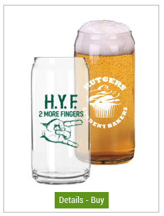 16 oz Pint Glass Can beer taster16 oz Pint Glass Can beer taster
