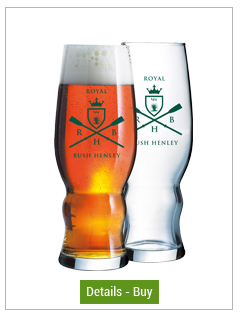 16 oz Medford Custom Pilsner Beer Glass16 oz Medford Custom Pilsner Beer Glass
