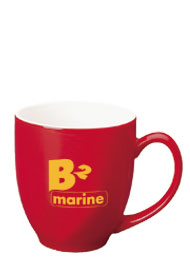 15 oz glossy bistro coffee mugs - red out15 oz glossy bistro coffee mugs - red out