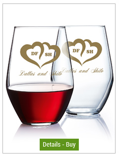19 oz Concerto stemless goblet wine glass19 oz Concerto stemless goblet wine glass