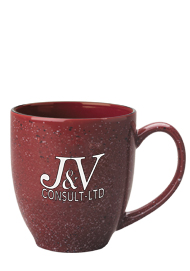 15 oz new mexico bistro mug - burgundy