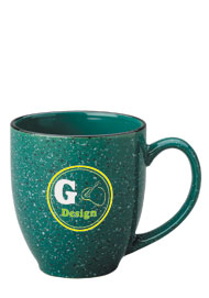 15 oz speckled new mexico bistro mug - green