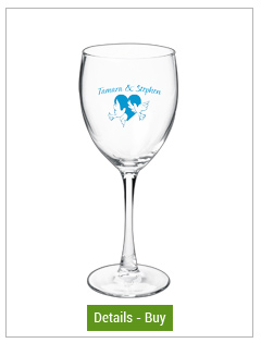 10.5 oz montego wedding goblet wine glass10.5 oz montego wedding goblet wine glass