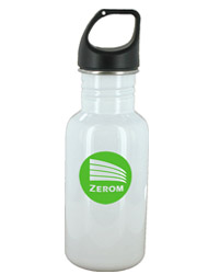 16 oz white junior excursion stainless steel sports bottle16 oz white junior excursion stainless steel sports bottle