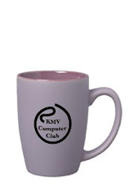 16 oz matte finish pastel coffee cup - purple