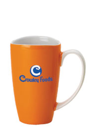 17 oz santa barbara wide mouth mug - orange17 oz santa barbara wide mouth mug - orange