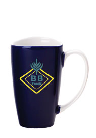 17 oz santa barbara wide mouth mug - cobalt blue17 oz santa barbara wide mouth mug - cobalt blue