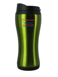 14 oz stainless steel green urbana travel mug14 oz stainless steel green urbana travel mug